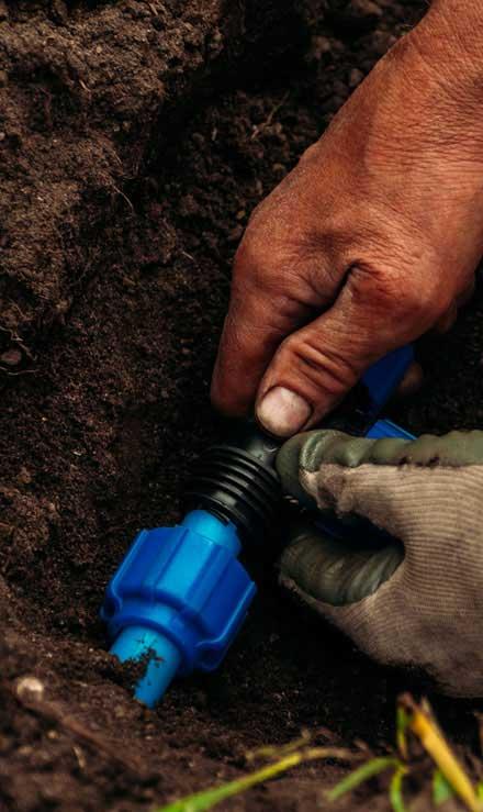 Ubiquitous Landscape Solutions Irrigation Installation