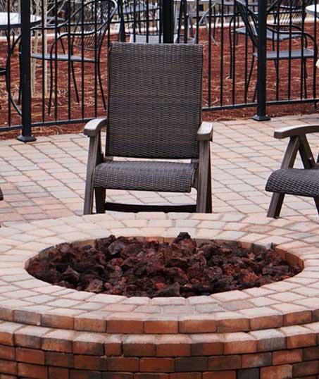 Ubiquitous Landscape Solutions Outdoor Fire Pits