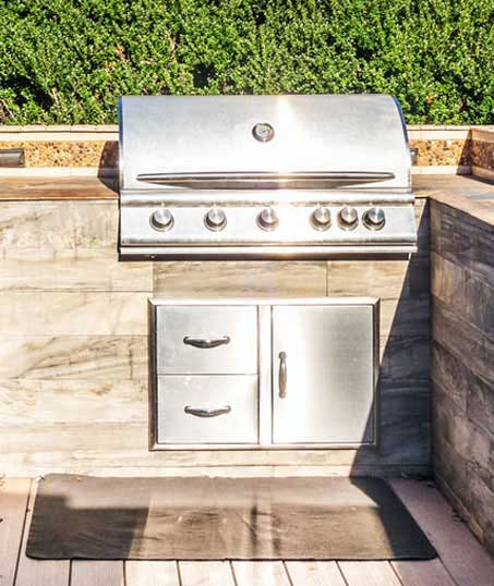 Ubiquitous Landscape Solutions Outdoor Kitchen Services