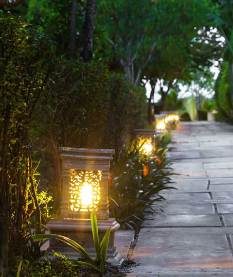 Ubiquitous Landscape Solutions Residential Landscape Lighting