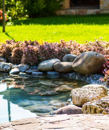 Ubiquitous Landscape Solutions Residential Water Features